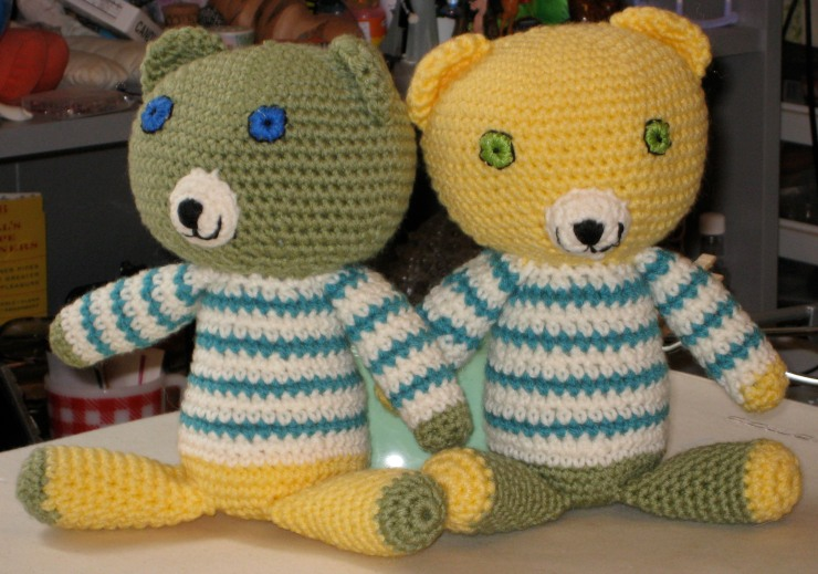jack and liam teddy