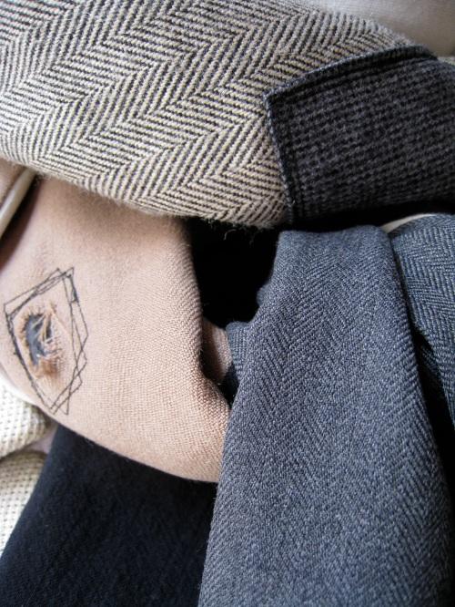 menswear scarf A 1