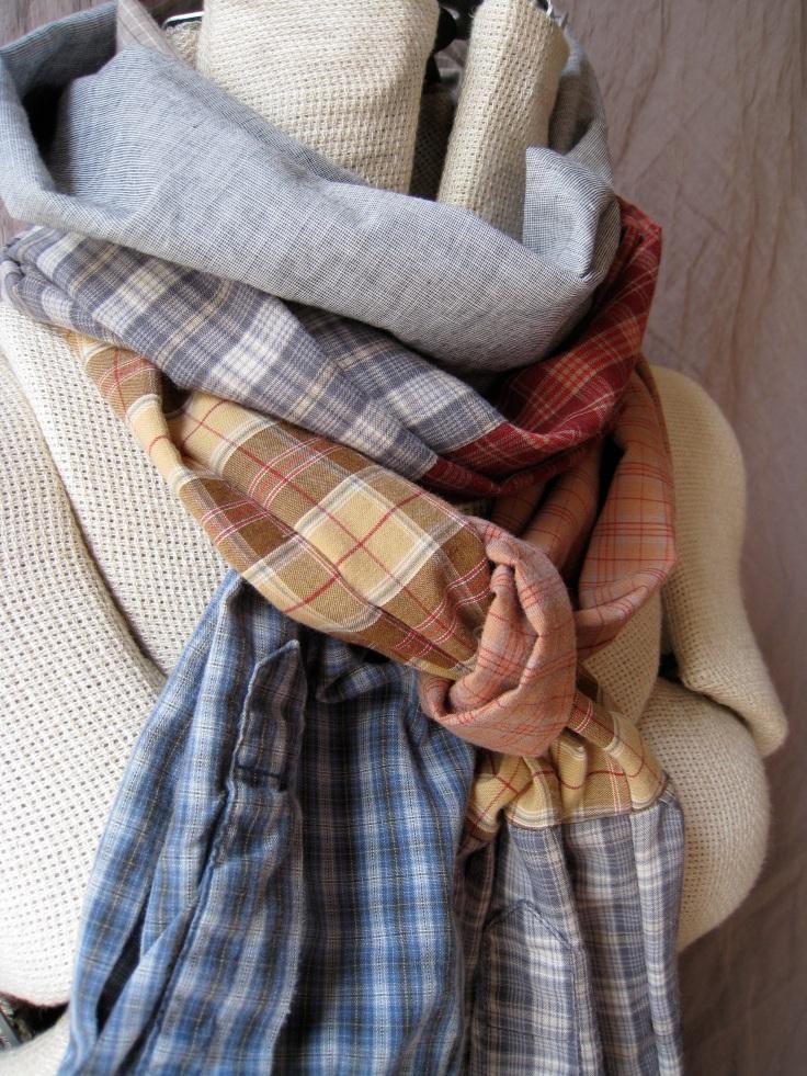 shirt sleeve scarf