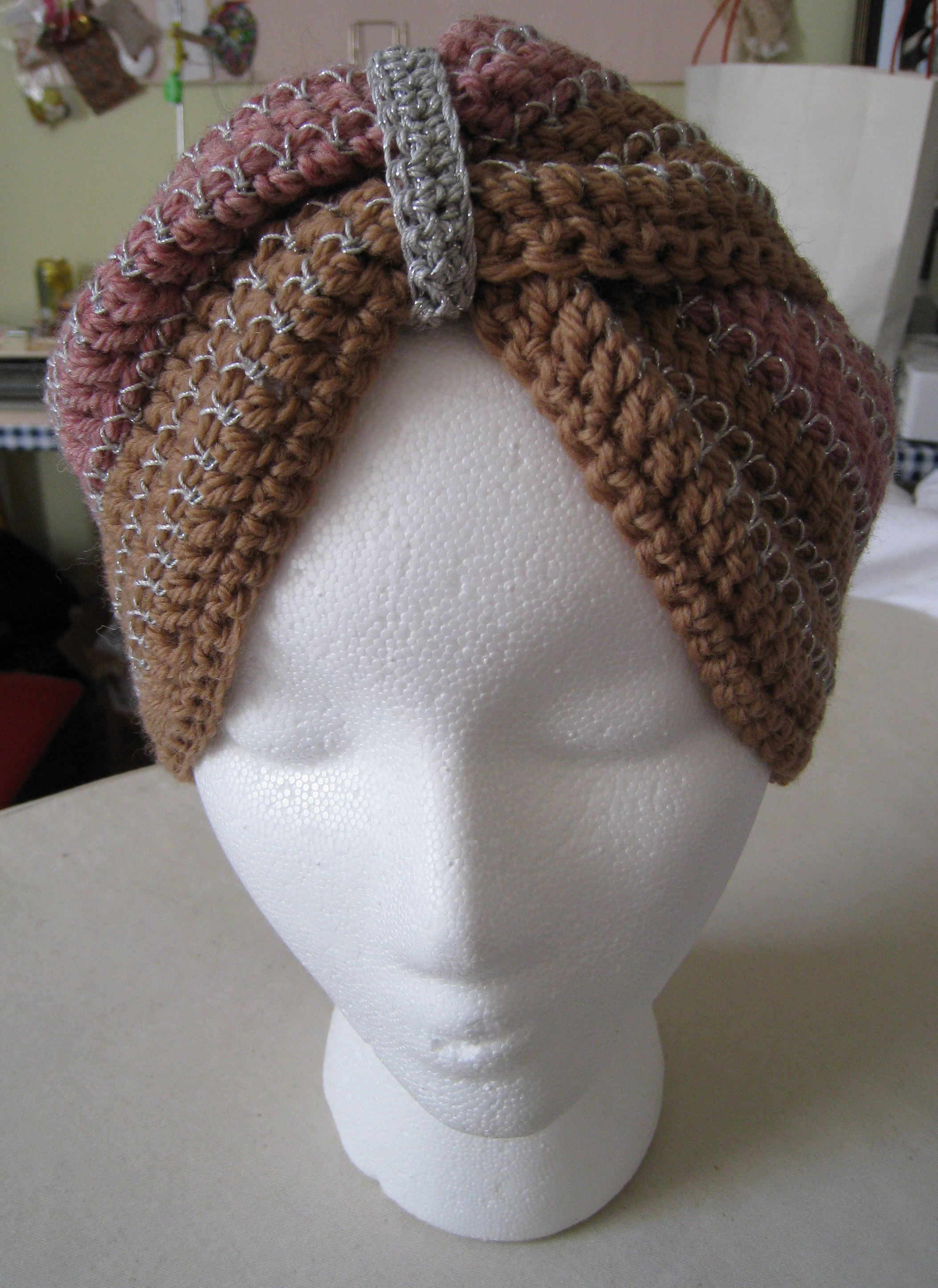 Free Crochet Pattern For Turban Headband : CROCHET TURBAN PATTERNS Crochet Projects