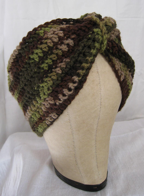 crochet turban Cut And Sewn