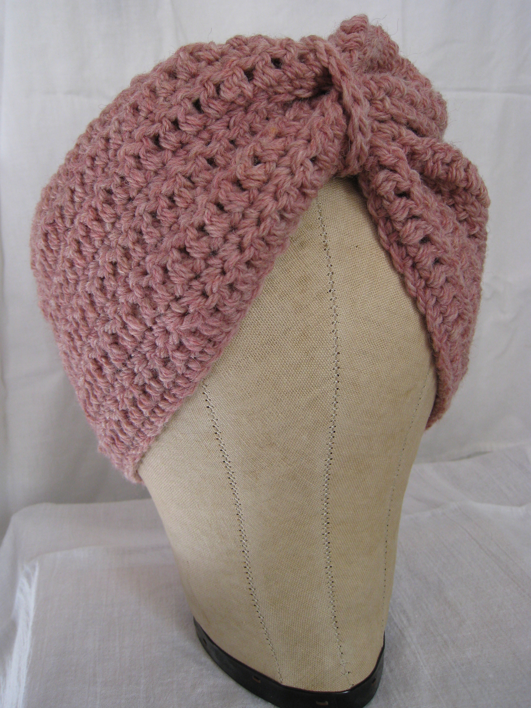 Crochet Pattern Turban Hat : crochet turban Cut And Sewn