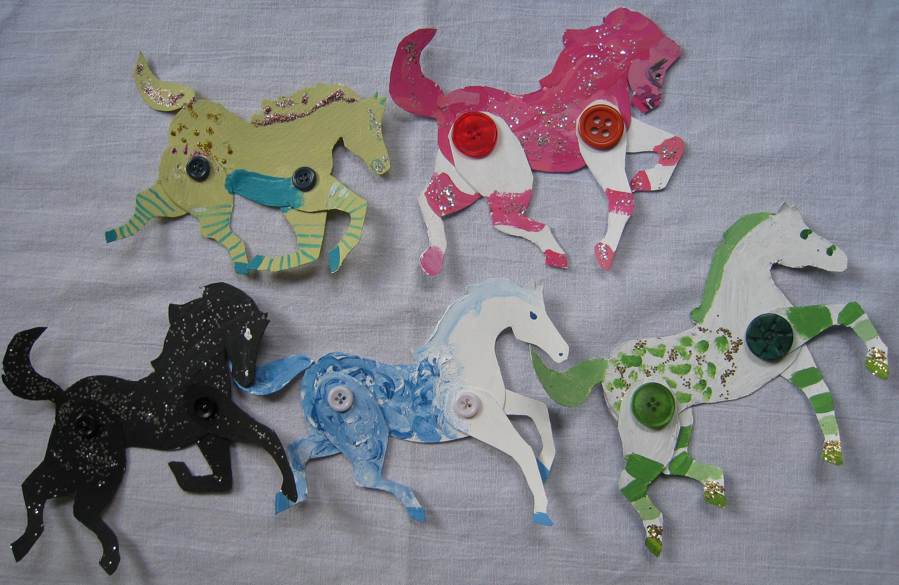Horse Camp Crafts
