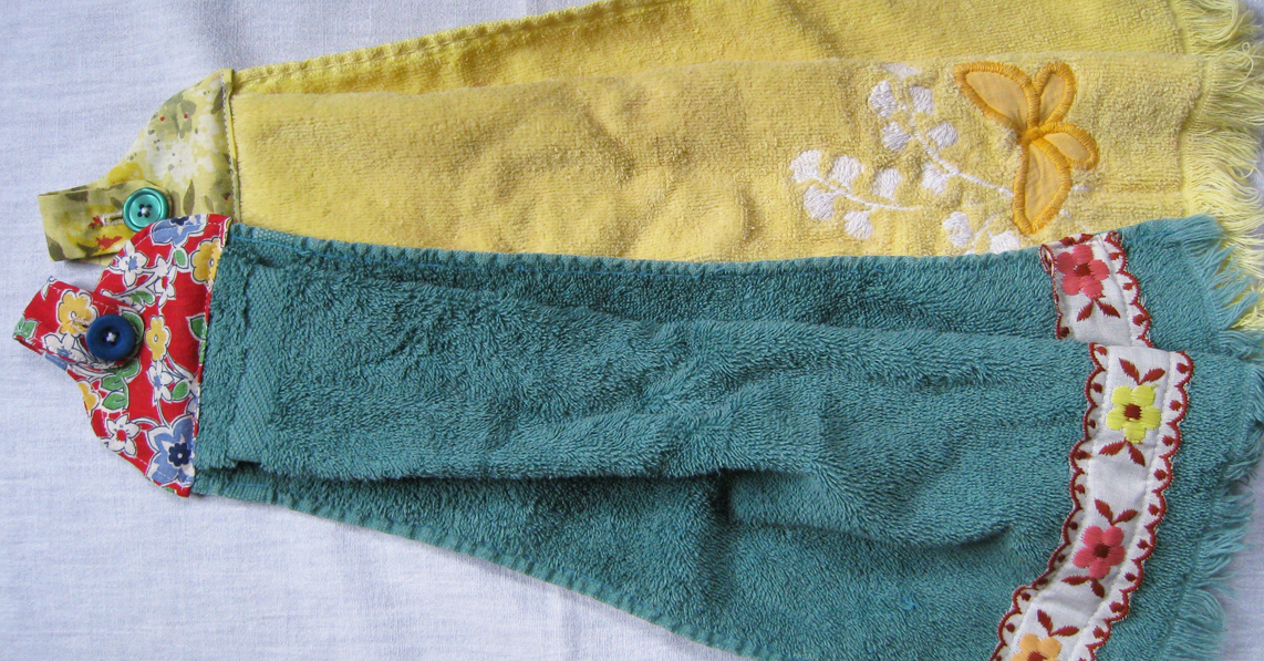 Towel Toppers – Cut and Sewn