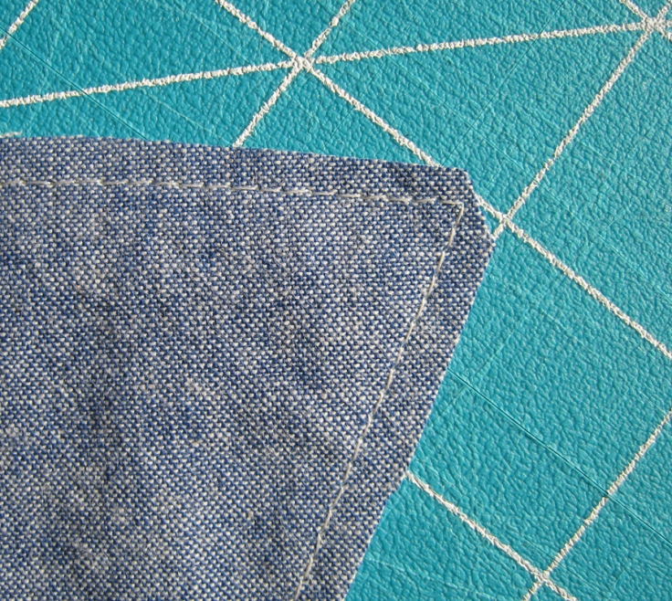 how to sew points tutorial
