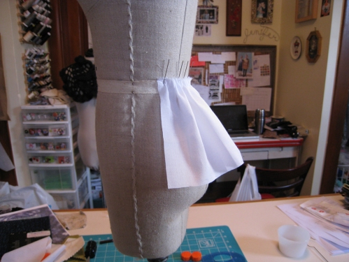 draped peplum 1