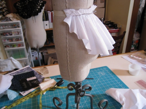 draped peplum 2