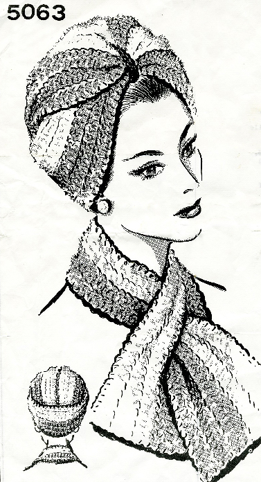 crochet turban pattern for sale, pdf
