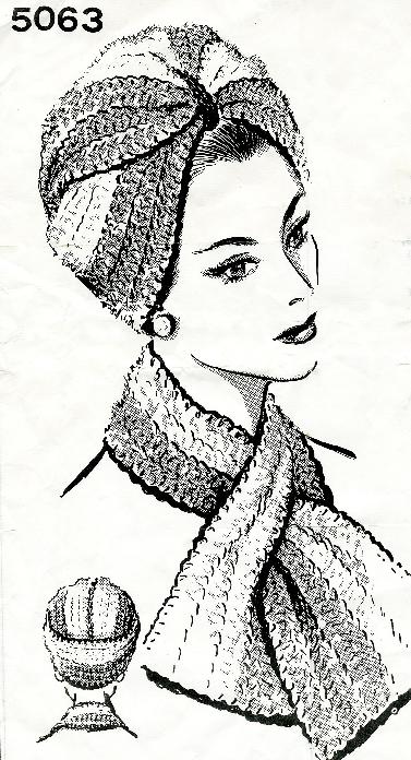 A Vintage Crochet Turban Pattern – Cut and Sewn b4c256d3938