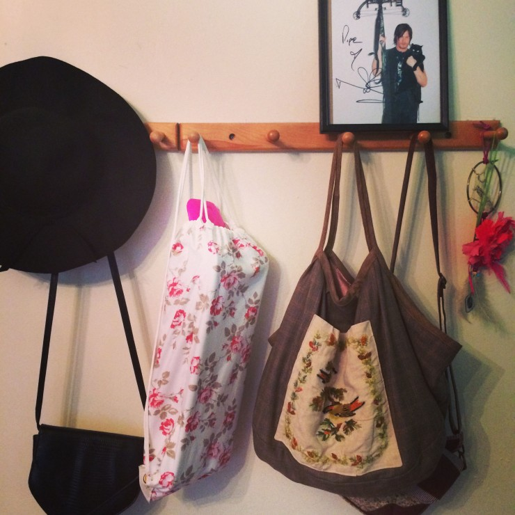 hanging penny bag