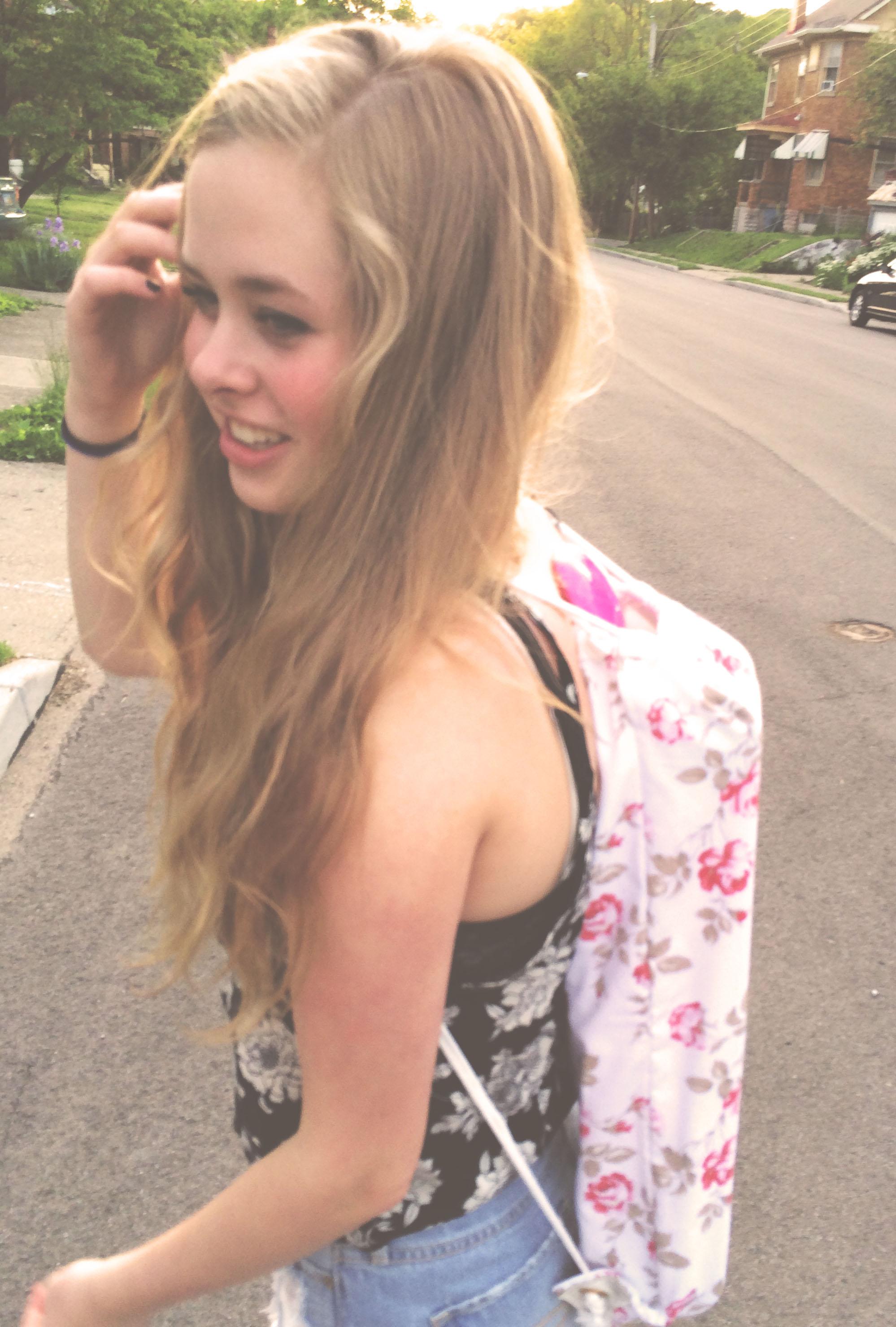 skate board backpack   Cut And Sewn