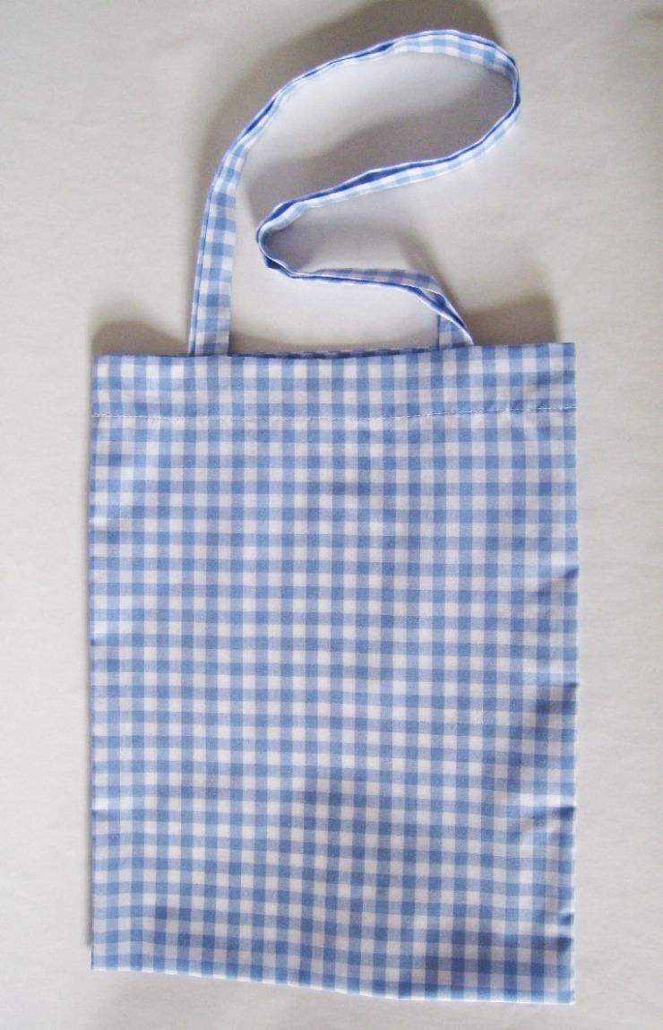 tote bag-pale blue