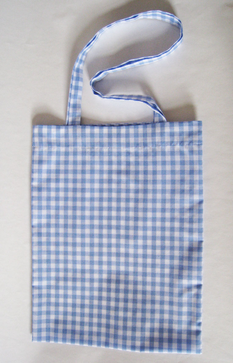 tote bag-pale blue