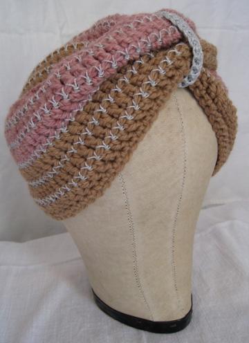 Vintage Turban Pattern Cut And Sewn