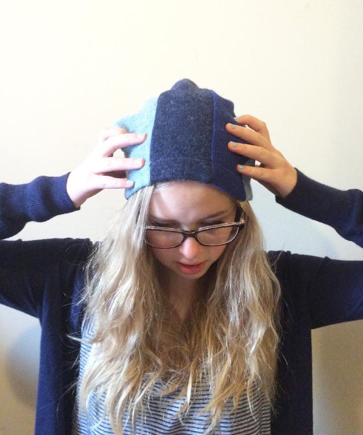 piper blue hat