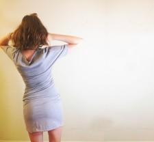 Piper-twist dress